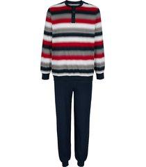 pyjama g gregory 1x marine/rood/grijs