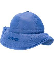 heron preston ctnmb padded hat - blue