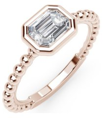 forevermark tribute collection diamond (1/3 ct. t.w.) ring in 18k yellow, white and rose gold