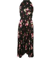 a.l.c. renzo pleated dress - black