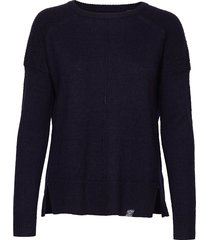 bria raglan knit stickad tröja blå superdry