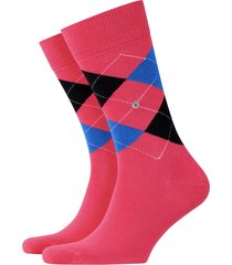 burlington king socks   pink/blue   21020-8856