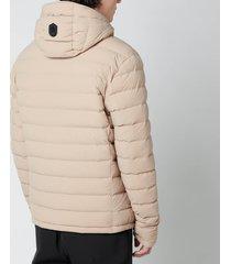 mackage men's mike lightweight down jacket - sand - xl