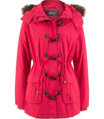 parka con alamari (rosso) - bpc bonprix collection
