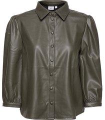 batisz shirt långärmad skjorta grön saint tropez