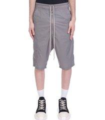 pants in grey polyamide