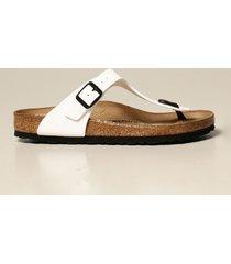 birkenstock flat sandals gizeh birkenstock thong sandal in patent leather