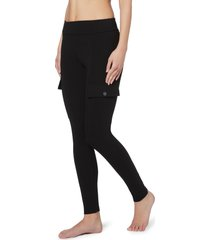 leggings utility in cotone comfort