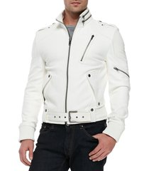 handmade men fashion leather jacket, mens genuine leather jacket, men jackets