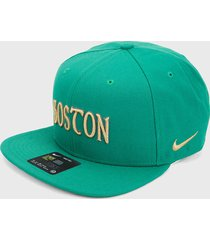 gorra verde nike boston celtics