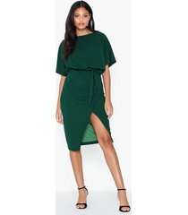 ax paris short sleeve knot dress loose fit dresses