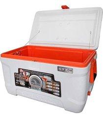 caixa térmica igloo 68 litros 114 latas cooler super tough stx 72 qt