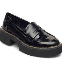 alz - loafer w/lug loafers låga skor svart dkny