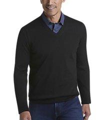 joseph abboud black 37.5® technology v-neck sweater