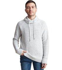 sweater cuello alto gris sioux