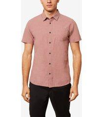 o'neill men's service short sleeve woven shirt