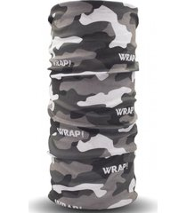 bandana gray military multicolor wild wrap