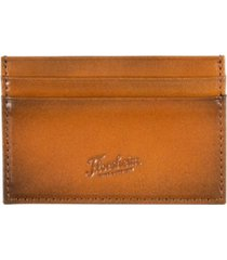 florsheim leather card case