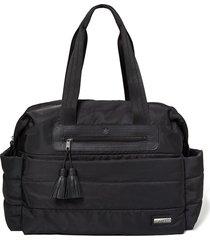 bolsa maternidade skip hop - coleção riverside ultra light satchel - black - kanui