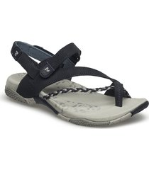 siena seagrass shoes summer shoes flat sandals blå merrell