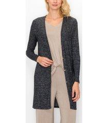women's cozy button-up cardigan