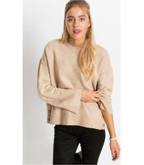 oversized trui met knopen