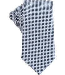boss men's white tie