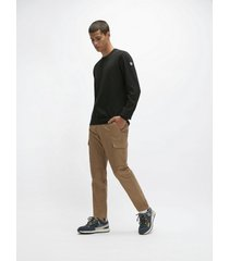 pantaloni cargo slim fit