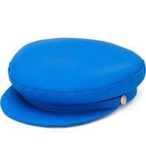 manokhi x toukitsou greek fisherman hat - blue