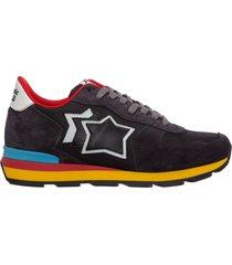 scarpe sneakers uomo camoscio antares