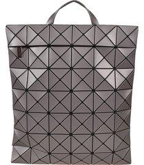 bao bao issey miyake geometric structured flat backpack