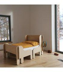 woo bed rama niska wysoka łóżko ze sklejki