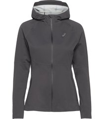 accelerate jacket outerwear sport jackets grå asics