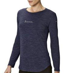 camiseta lupo poliamida manga longa feminina