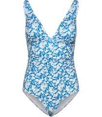 artygz swimsuit baddräkt badkläder blå gestuz