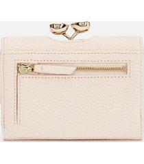 ted baker women's alyesha teardrop crystal mini bobble purse - lt-pink