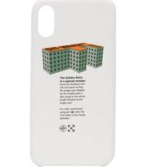 off-white golden ratio iphone xs case