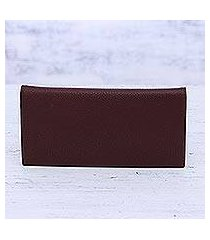 leather wallet, 'stylish allure' (india)