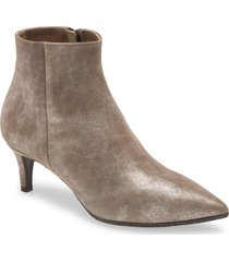 women's cordani garvie pointed toe bootie, size 6.5us - metallic