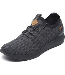 zapatilla cuiser knit gris oscuro reef