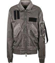 dsquared2 huge pockets oversized jacket