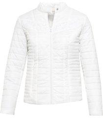 giacca trapuntata con pizzo (bianco) - bodyflirt boutique