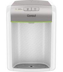 purificador de água consul cpc31ab compacto, com filtragem classe a branco