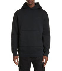 men's bottega veneta logo cotton blend hoodie