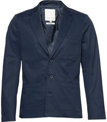 blazer cfbille 3 button cotton blaz blazer colbert blauw casual friday