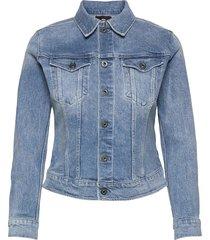 3301 slim jacket jeansjacka denimjacka blå g-star raw
