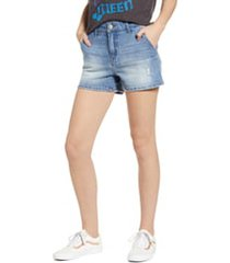women's prosperity denim trouser pocket denim shorts