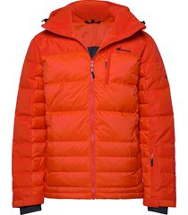 selvågen down jacket fodrad jacka orange skogstad