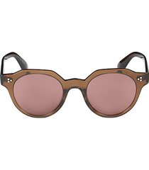 48mm round sunglasses