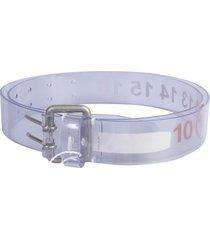 maison margiela belt with logo